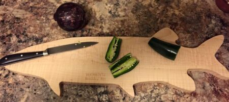 Musky Cutting Board
